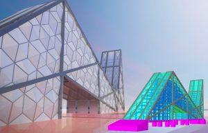 BIM risinājumi stikla un fasāžu konstrukciju ražošanā