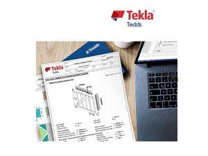 Structural calculations software Tekla Tedds
